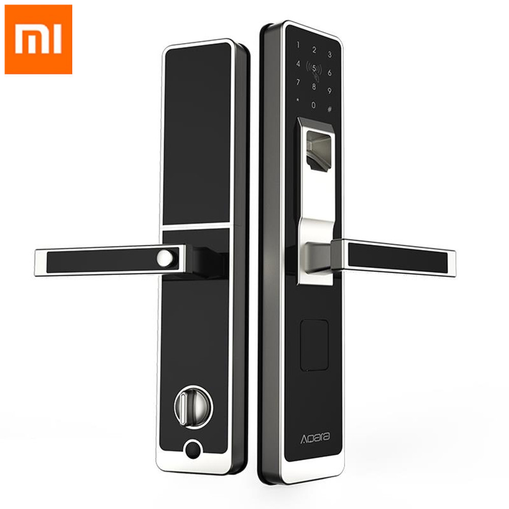Original Xiaomi Aqara Smart Lock Door Touch Electronic Lock Live Fingerprint Unlock Password App Control for Home <strong>Security</strong>