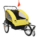 Factory Directly Kid Child Bike Trailer Children Baby Pram Bicycle Stroller Suspension Jogger bicycle trailer(BT003)