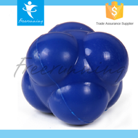 Smooth Flexible Speed Training Rubber Small Reaction Ball