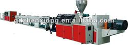 PPR plastic pipe extrusion machine/line