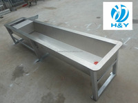 Dairy Farm Stainless Steel Cattle Drinkering Water Trough