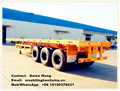 CHANGHUA 3 Axles Flat Bed Trailer/ Container Trailer/Cement Trailer