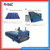 Popular used automatic color steel metal roof sheet tile making machines