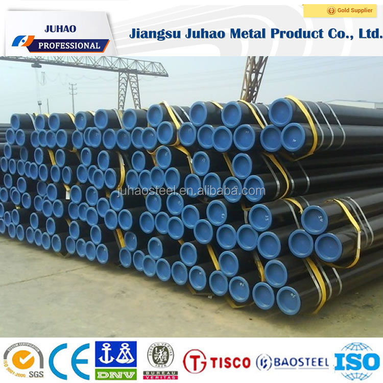 high quality seamless tube with epoxy power coated for oil and gas supply