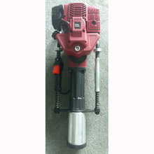 100mm Gasoline Petrol Gas Powered Electric Power Handheld Star Picket Piling Driving Hammer Fence Post Driver Machine