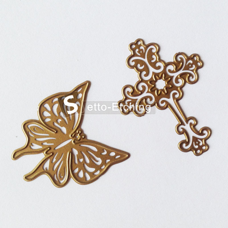 Wholesale metal die cut embossing stencil with OEM available