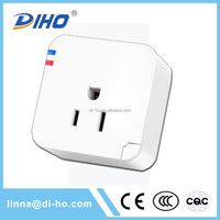 DIHO good price plugs and sockets us plug wifi remote control switch