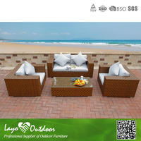 Space Saving Popular outdoor Rattan Sofa Set