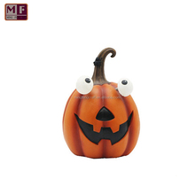 Customized Resin Pumpkin With Led Light Halloween Decoration For Holiday Gifts