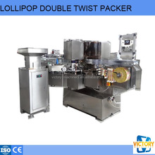 automatic lollipop horizontal double twist packing machine