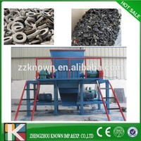 3-6Tons capacity single shaft tire shredder / used tire shredder machine for sale