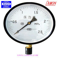 bourdon tube 3 inch oxygen pressure gauge with a low price