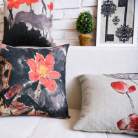Creative beautiful flower design household cushion cover wholesale