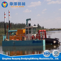 14 inch river sand suction dredger,river sand mining machine