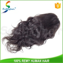 Wholesale custom Body Wave human hair topper wig