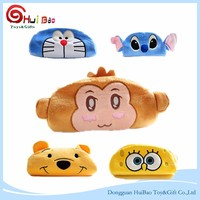 2016 high quality mini animal style pen box toy plush pencil case