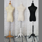 Fashion upper-body female fabric cover mannequins