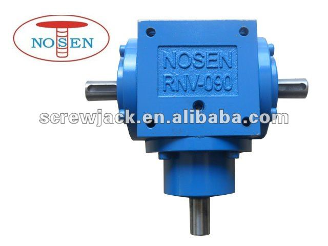 reverse rotary tiller gearbox bevel gear box for machine workshop