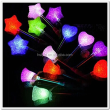 24CM Glow Star Flower Rose Heart LED Glowing Stick Flashing Light Festival Concert Wedding Birthday Party Favors SL002