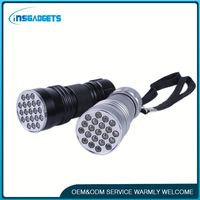 Alibaba new premium h0tBj high power rechargeable uv led flashlight for sale