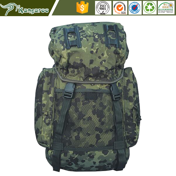35L DPM woodland camouflage nylon tactical military backpack