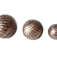 Large Metal Garden Ornament Balls For