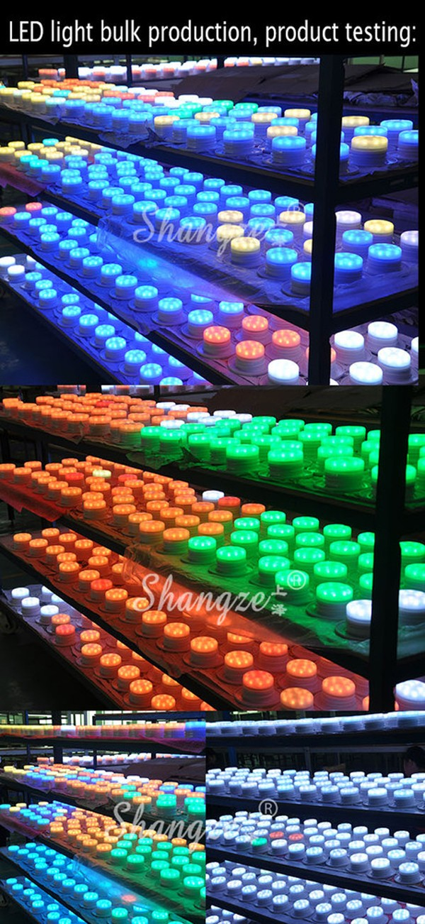 inductive charging LED lights decorative 16 color lamp
