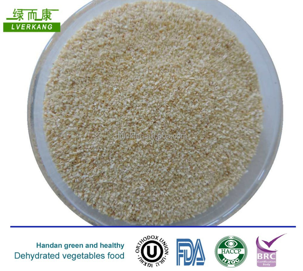 dehydrated minced garlic/dried garlic minced /garlic granules,2014 low price fried garlic granules