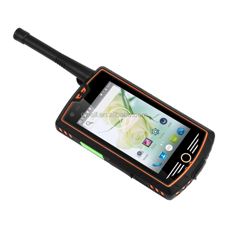 Alps W305 4 Inch Touch Screen Analog/radio uhf dmr rugged android phone with nfc