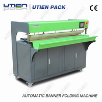 High quality Newest Edge Folding for flag and banner auto folding machines