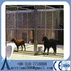 2014 new unique iron fence cheap chain link dog kennel