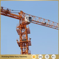 Meida Brand Self Erecting Tower Crane Flat Top Crane Price for rental in asia