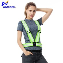 Reflective vest working clothes provides warning reflective safety vest