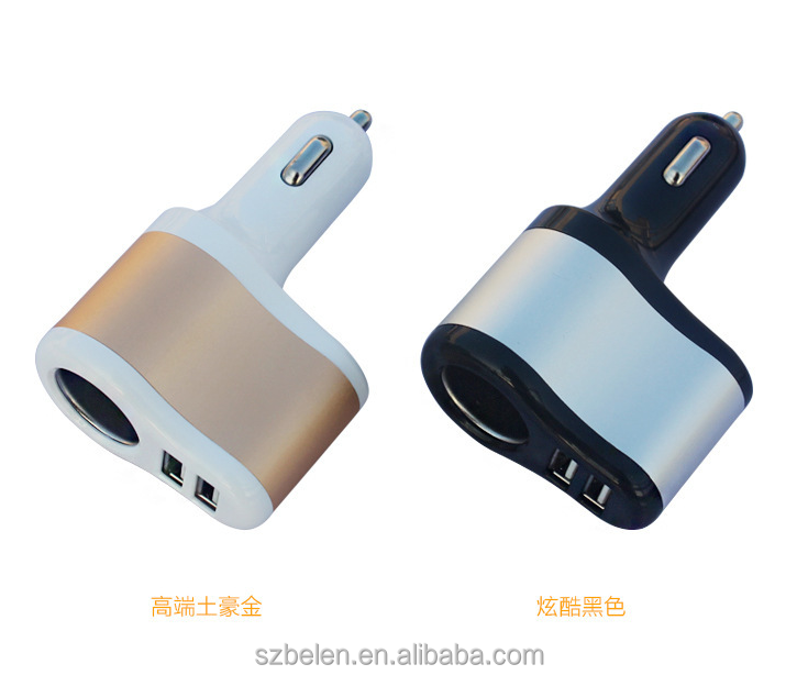 Hot Amazon Seller Uk High Quality 2 Port Usb Car Charger Manufacture Car Battery Charger 12V