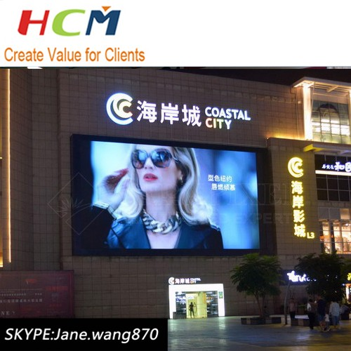 P6 P8 full color led video display,8mm led screen cabinet outdoor SMD
