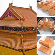ML-001 Balcony roof covering classical roof tile 340x140x203mm