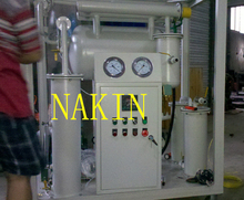 Oil Cleaning Purification Machine For High Voltage Transformer Oil/Oil Purifier Machine