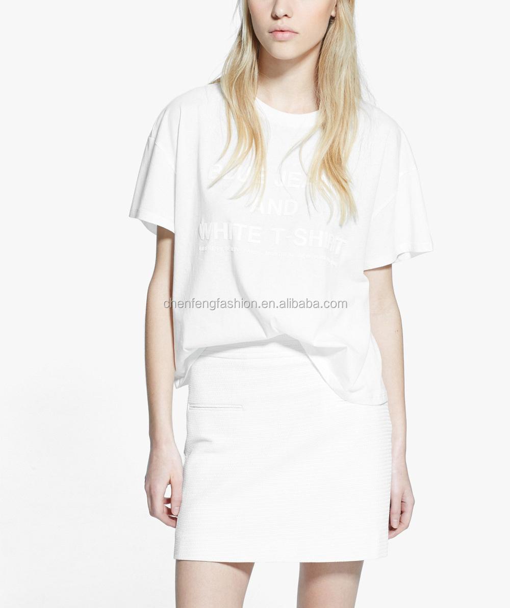 Textured Plain Short Skirts Models White A-line Skirt - Buy Short ...
