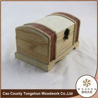 Wooden Home Table Storage Box