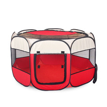 Cheap best quality 8 side folding fabric playpen for pets