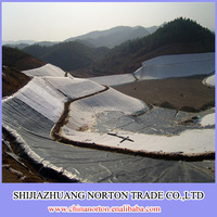 0.5mm/0.8mm/1mm/1.5mm/2mm smooth and black geomembrane hdpe liner by professional supplier in china