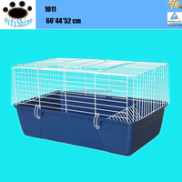 Welded wire mesh folding rabbit cage