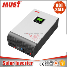 CE certified 2kva to 5kva pure sine wave solar hybrid power inverter with MPPT Charge controller