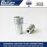 ISO 7241-A Hydraulic High Pressure Hose Coupling Quick Connect & Disconnect Coupler