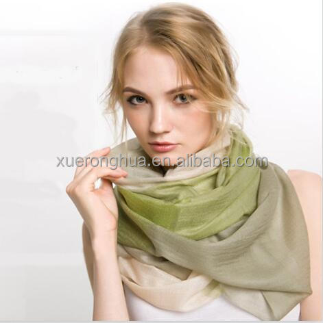 100% cashmere pashmina thin scarf for autumn