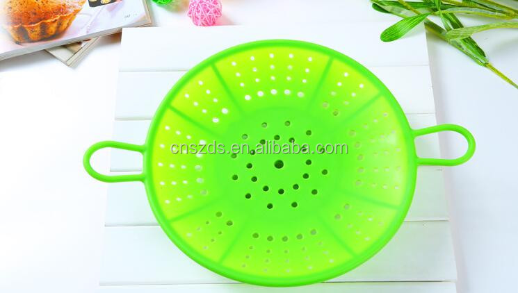 100% food grade Silicone Kitchen accessories Supplies Microwave Silicone Steamer, Heatproof Plate, Steam Tray