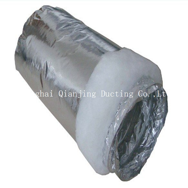 Cooling system 4 inch insulated flexible duct with good quality