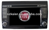 7 inch 2 din car dvd radio gps navi with PIP - Ipod video - BT - TV for FIAT BRAVO 2011