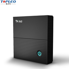 High quality TX92 3gb ram 16G/32G/64G rom android tv box rom android 7.1 tv box S912