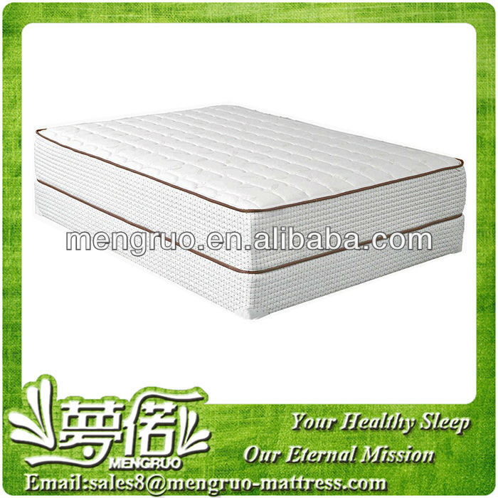 Memory foam pocket coil spring mattress MR-YF578